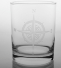 Compass Rose Glassware - Personalized It