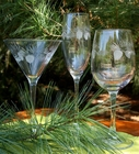 Icy Pine Glassware Collection