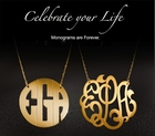Jane Basch Monogram & Personalized Jewelry