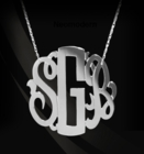 New-Neo Classic Monogram Necklace