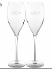 Personalized Champagne Flutes/Set of 2