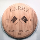 Personalized Flag Lazy Susan or Plaque