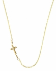 Sideways Cross Necklace or Bracelet by Charlene K