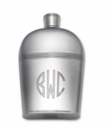Silver Flask Engraved