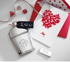 Silver Flask Monogrammed or Personalized
