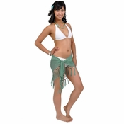 Sheer Sarong in Sea Foam