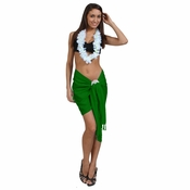 Half Sarong / Mini Sarong Pareo in Sea Green