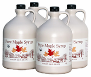 Organic Maple Syrup 4/1 gallon Case