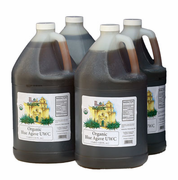 Organic Raw Blue Agave (UWC) Amber (4/1 Gallon Case)