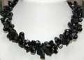 Black Tourmaline and Pearls