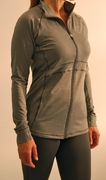 Everyday Full Zip Jacket - Med. Heather Gray