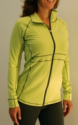 Everyday Full Zip Jacket - Soft Lime