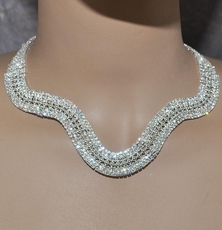 BREATH OF FRESH AIR RHINESTONE JEWELRY SET