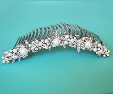 BRIDAL SHOWER AB-REFLECTIVE HAIRCOMB