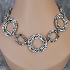 CHAIN REACTION SILVER JEWELRY SET