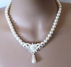 ELEGANT PEARL WEDDING JEWELRY SET*