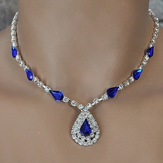 IT'S DELOVELY ROYAL BLUE BRIDESMAIDS JEWELRY SET - TEMP SOLD OUT