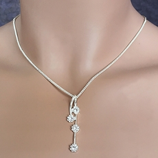 LASSY LADY RHINESTONE JEWELRY SET