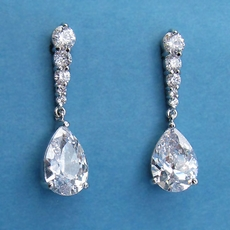 MARTHA'S CZ CUBIC ZIRCONIA EARRINGS - SOLD OUT