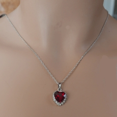 SIMPLY HEARTS RED JEWELRY SET