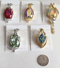 SWAROVSKI CRYSTAL LARGE PENDANTS