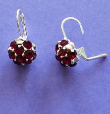 SWEET BOUQUET RED EARRINGS