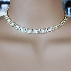 TOUCH OF GOLD CHOKER SET