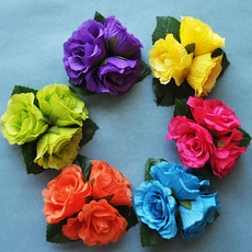 TRI-FLOWER HAIRCLIP