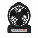 "AlphaCool 4"" Rechargeable Battery Powered Fan"