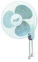 "Comfort Zone 16"" Wall Mount Fan"