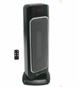 Comfort Zone CZ523RBK Oscillating Ceramic Tower - Black