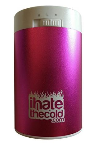 iHateTheCold Rechargeable Reusable Maxi Pink 8800mAh USB Hand Warmer