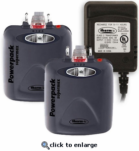 Therm-ic PowerPack SuperMax - 2 Batteries and Charger Set