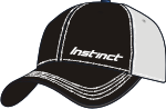 Instinct Logo Baseball Cap Black