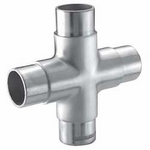 4-way cross fitting