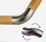 "Articulated Elbow for 1.78"" Wood Handrail"