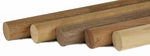 """Wood Round Handrail - 1.78"""" dia. For Stainless Fittings"""