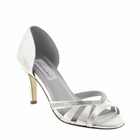 "Quinn shoe by Dyeables 2 3/4"" heel in White (dyeable) size 5-11"