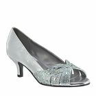 Tracy Shoe by Dyeables silver, champagne, black, white M, W, EW