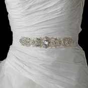 Dazzling Crystal Beaded Wedding Dress Belt