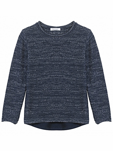 3 Pommes British Girl Blue Navy Pullover