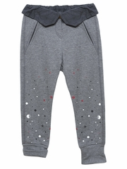 3 Pommes Gray Chine Trousers