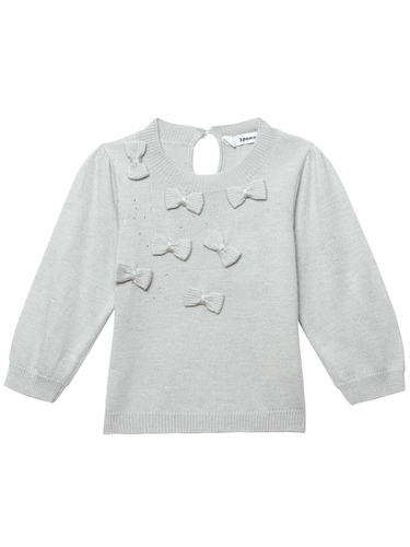 3 Pommes Light Grey Sweater
