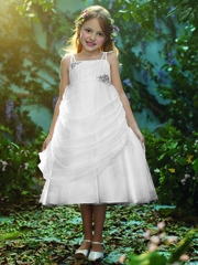 Alfred Angelo Rapunzel Inspired White Dress