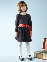 Anthem of the Ants Lucille Navy Lace Dress
