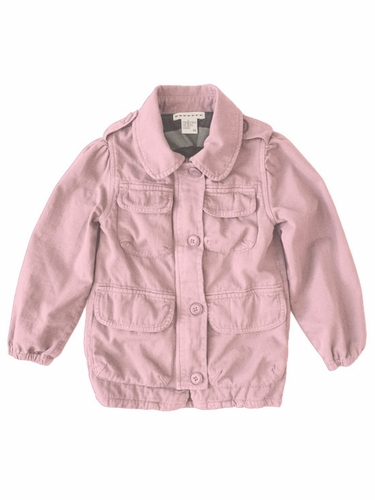 Anthem of the Ants Pink Fatique Cargo Pocket Jacket