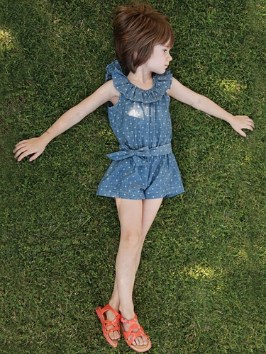 Anthem of the Ants We Love Dotty Croquet Romper