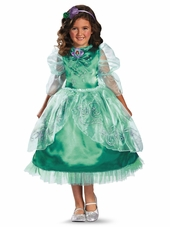 Ariel Sparkle Deluxe Girls Costume
