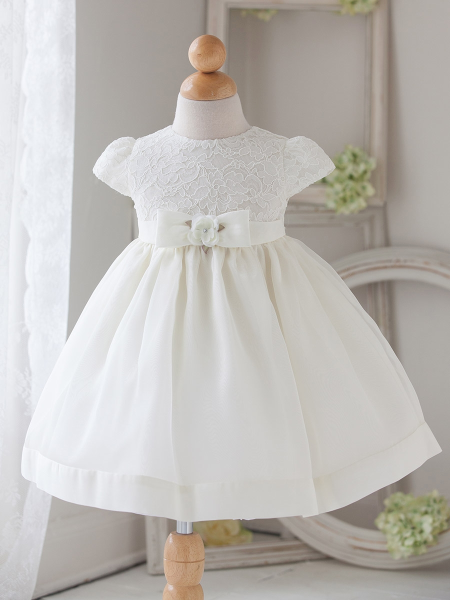 Girl White Vintage Charm Lace Dress