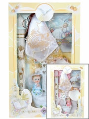 Baptism 6 Piece Candle Gift Set � English